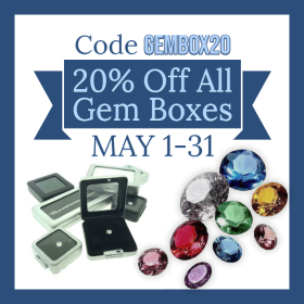 20% Off All Gem Boxes Throughout May