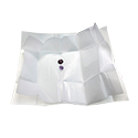 Kassoy Standard Diamond Parcel Papers - White/White
