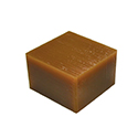 "Wolf Wax, Space Block, Gold 3-9/16"" x 3-9/16"" x 2-3/8"""