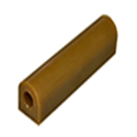 Wolf Wax Ring Tube, Flat Side With Hole