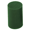 Ferris File-A- Wax Round Bar, Green