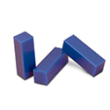 "Ferris File-A-Wax, Package of 3 Bars, Blue, 3-3/4"" x 1-1/8"" x 1-1/8"", 1/6 lb. bars"