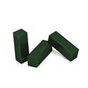 "Ferris File-A-Wax Package of 3 Bars, Green, 3-3/4"" x 1-1/8"" x 1-1/8"", 1/6 lb. bars"