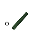 "Ferris File-A-Wax Ring Tube, Center Hole, Green, 7/8"" OD"