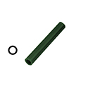 "Ferris File-A-Wax Ring Tube, Center Hole, Green, 1 1/16"" OD"