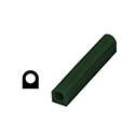 "Ferris File-A-Wax Ring Tube, Flat Side With Hole, Green, 1 1/8"" high x 1 1/8"" wide"