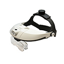 Lighted Magnifier with 2-way adjustable Headband