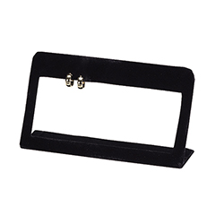 6 Pair Stud Display Frame - Black Velvet