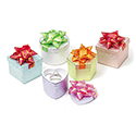 Assorted Shaped Hat Boxes - Embossed Foil
