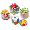Assorted Shaped Hat Boxes - Assorted Patterns