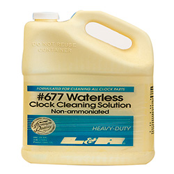 L&R Waterless Clock Cleaning Solution