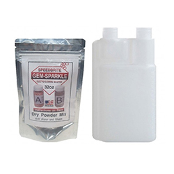 Speed Brite Powder Packet and Reusable Bottle - 32oz