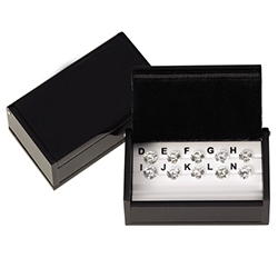 Ellin CZ Master Set 10 Stone Box - Box Only