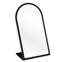 Black Acrylic Countertop Mirror