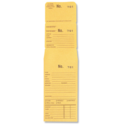 Numbered Job Envelopes - 4,001-5,000