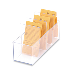 Job Envelope Holder - Clear Acrylic