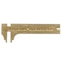 Brass Vernier Gauge - 80mm