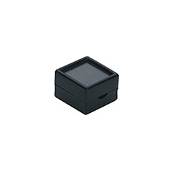 Deluxe Gem Display Boxes - Black - 1 1/2