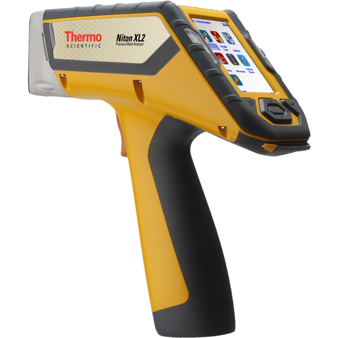 Hand Held Gold Tester : Handheld metal analyzer thermo scientific
