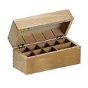 Empty Wooden Box for Gold Testing Kit