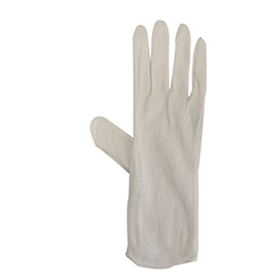 Inspection Gloves - Cotton/Polyester Blend - White