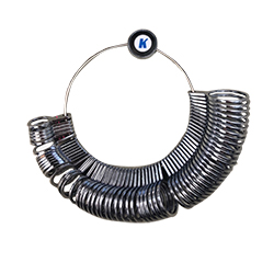 Full, Half & Quarter Size Ring Sizer - 1-16