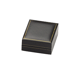 Large Earring Box - Regal Collection - Black