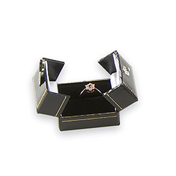 Ring Box - Royal Collection - Black