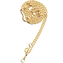 Gold Tone Metal Loupe Chain