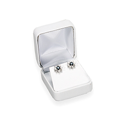 Earring Box - Simplicity Collection - White