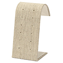 6 Pair Stud Stand - Natural Linen
