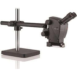 Leica Bench Microscope with Swing Arm