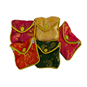 Floral Chinese Jewelry Pouches