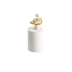 Low Ring Stand - White - Soft Collection
