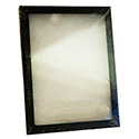 Cotton Filled Clear-Top Layout Box - Medium