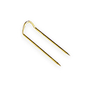 Jewelry Display U-Pins - Yellow (100 pieces)