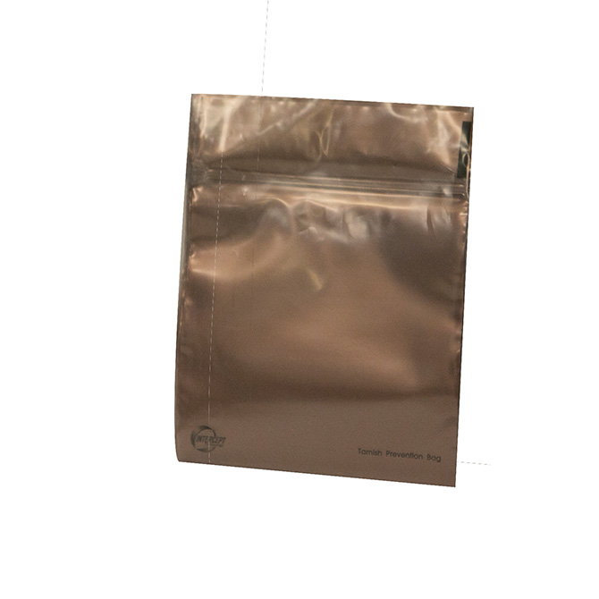 Intercept anti tarnish zip lock bags 4 x 4 kassoy for Anti tarnish jewelry bags