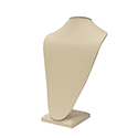 Tall Bust - Beige Leatherette
