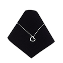 Necklace Cone - Black Velvet