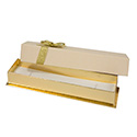 Gold Bow Bracelet Box (12 pack)