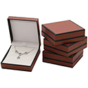 Pendant Box - Metallic Collection - Burgandy (12 pack)