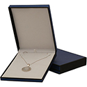 Necklace Box - Metallic Collection - Blue (12 pack)