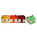 Assorted Color Ring Boxes - Magnetic Ribbon (48 pack)