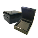 Earring Box - Sienna Collection - Black/Black (10 pack)