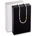 Medium Necklace Stand - White - Glossy