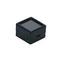 "Deluxe Gem Display Boxes - Black - 2"" x 2"""