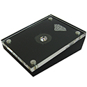 "Diamond Display Box with Magnetic Cover - 2 1/3"" x 1 3/4"""