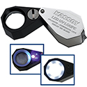 Kassoy 10x LED and UV Lighted Loupe