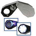 Kassoy 14x LED and UV Lighted Loupe