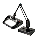 Dazor Stretchview Desk Base Magnifier 33""